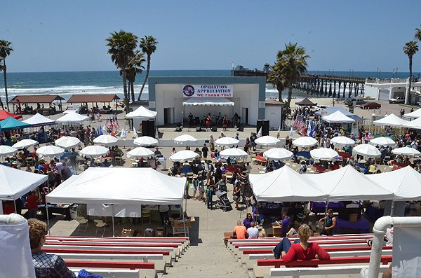 2013-05-18 Liquid Blue Band in Oceanside CA at Oceanside Pier Amphitheater 004