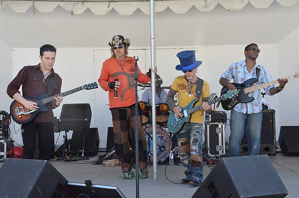2013-05-18 Liquid Blue Band in Oceanside CA at Oceanside Pier Amphitheater 101