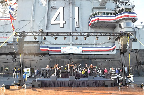 2013-06-23 Liquid Blue Band in San Diego CA on USS Midway 003