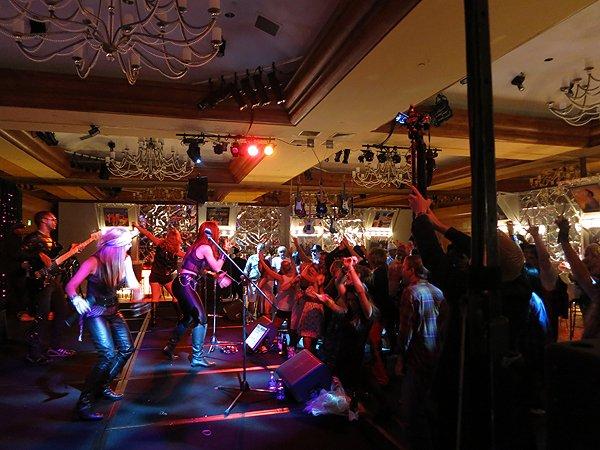 2013-07-11 Liquid Blue Band in Pebble Beach CA at The Inn at Spanish Bay 099