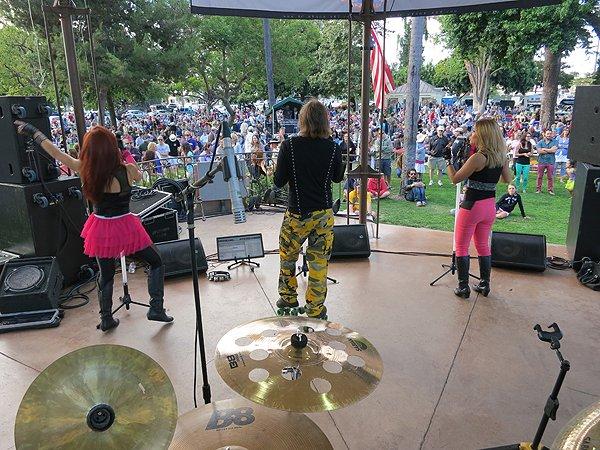 2013-07-28 Liquid Blue Band in Coronado CA at Spreckels Park 028