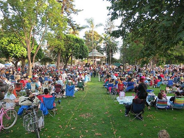 2013-07-28 Liquid Blue Band in Coronado CA at Spreckels Park 045
