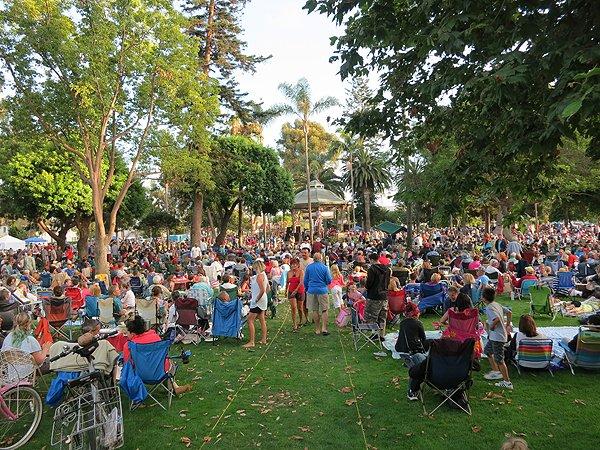 2013-07-28 Liquid Blue Band in Coronado CA at Spreckels Park 048