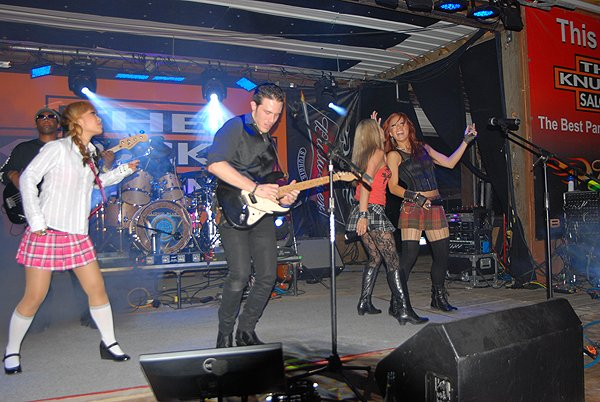 2012-08-06 Liquid Blue Band in Sturgis SD at The Knuckle Saloon 015
