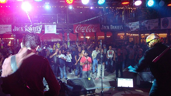 2012-08-06 Liquid Blue Band in Sturgis SD at The Knuckle Saloon 108