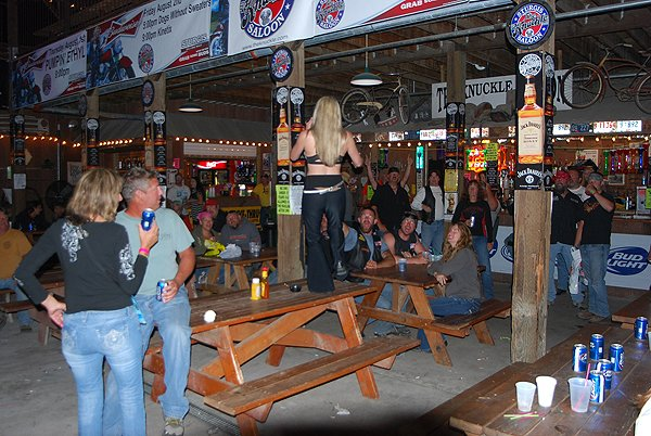 2012-08-06 Liquid Blue Band in Sturgis SD at The Knuckle Saloon 177