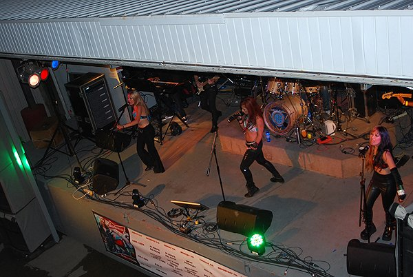 2013-08-09 Liquid Blue Band in Sturgis SD at Side Hack 012