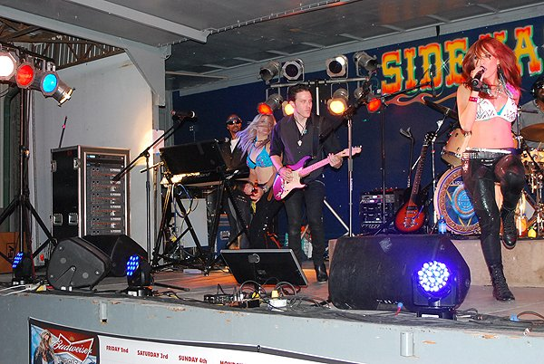 2013-08-09 Liquid Blue Band in Sturgis SD at Side Hack 018