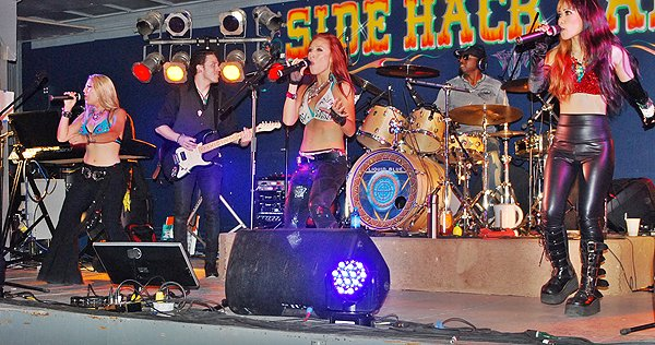 2013-08-09 Liquid Blue Band in Sturgis SD at Side Hack 019
