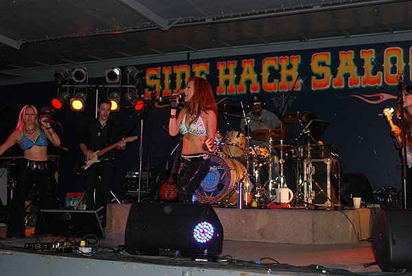 2013-08-09 Liquid Blue Band in Sturgis SD at Side Hack 026
