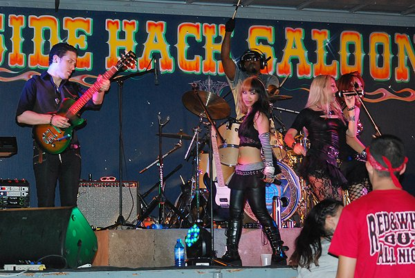 2013-08-09 Liquid Blue Band in Sturgis SD at Side Hack 276