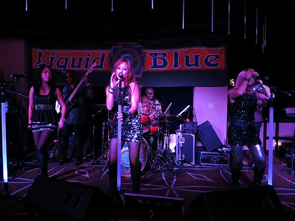 2013-08-28 Liquid Blue Band in Ontario CA at Misty's Lounge 029