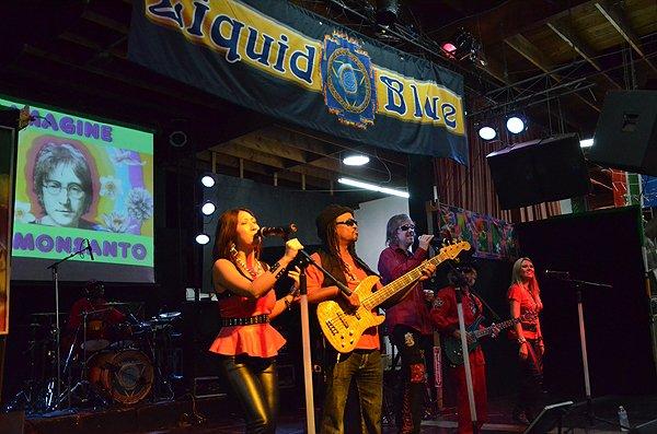 2013-10-11 Liquid Blue Band in San Diego at World Beat Center 003