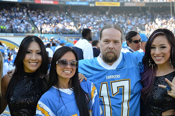2013-12-01 Charles Powell and the Blue Girls in San Diego CA at Qualcomm Stadium 000