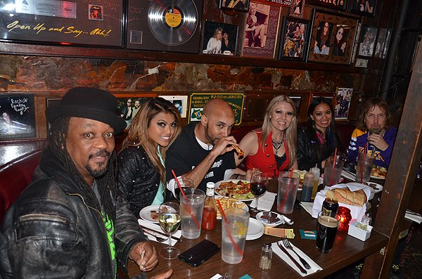 2014-02-11 Liquid Blue Band in West Hollywood CA 026