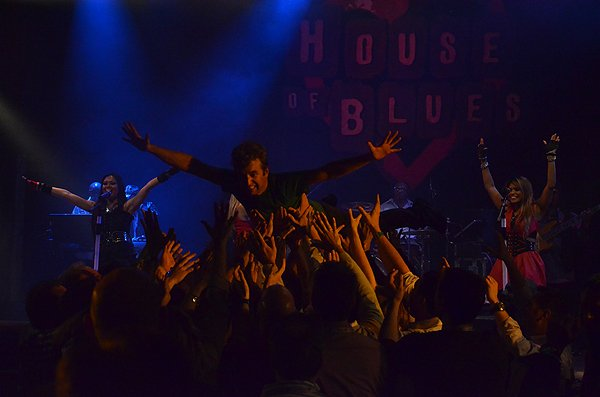 2014-02-11 Liquid Blue Band in West Hollywood CA at House of Blues 202