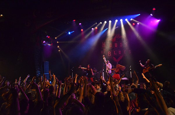 2014-02-11 Liquid Blue Band in West Hollywood CA at House of Blues 283
