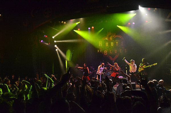 2014-02-11 Liquid Blue Band in West Hollywood CA at House of Blues 284