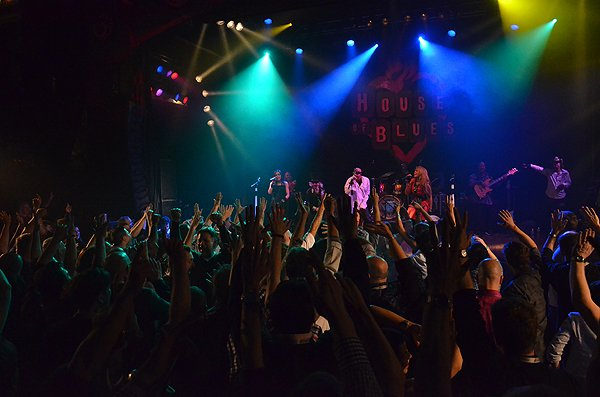 2014-02-11 Liquid Blue Band in West Hollywood CA at House of Blues 297