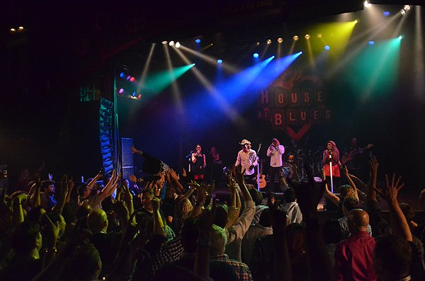 2014-02-11 Liquid Blue Band in West Hollywood CA at House of Blues 299