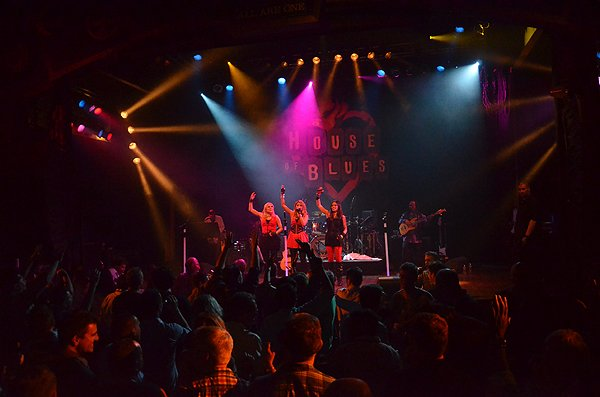 2014-02-11 Liquid Blue Band in West Hollywood CA at House of Blues 316