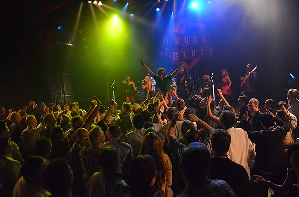 2014-02-11 Liquid Blue Band in West Hollywood CA at House of Blues 335