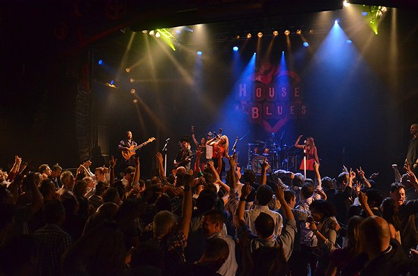 2014-02-11 Liquid Blue Band in West Hollywood CA at House of Blues 350