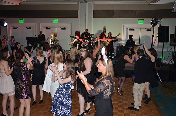 2014-02-22 Liquid Blue Band in San Diego CA at Paradise Point Resort 034