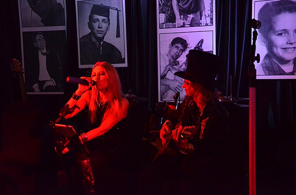 2014-03-01 Acoustic Blue Band in Rancho Santa Fe CA at RSF Golf Club 001