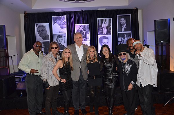 2014-03-01 Liquid Blue Band in Rancho Santa Fe CA with Gordon Swanson 002