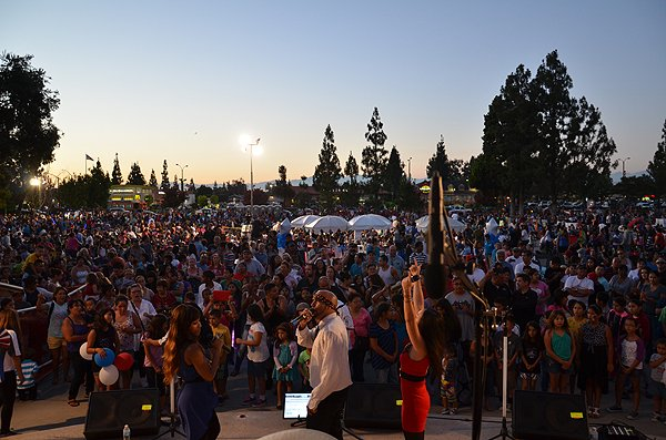 2014-07-03 Liquid Blue Band in Norwalk CA at City Hall Lawn 216