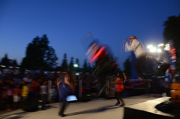 2014-07-03 Liquid Blue Band in Norwalk CA at City Hall Lawn 271