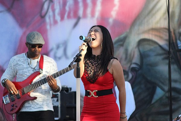 2014-07-03 Liquid Blue Band in Norwalk CA at City Hall Lawn 341