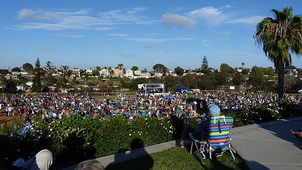 2014-07-18 Liquid Blue Band in Point Loma CA at Community Park 021