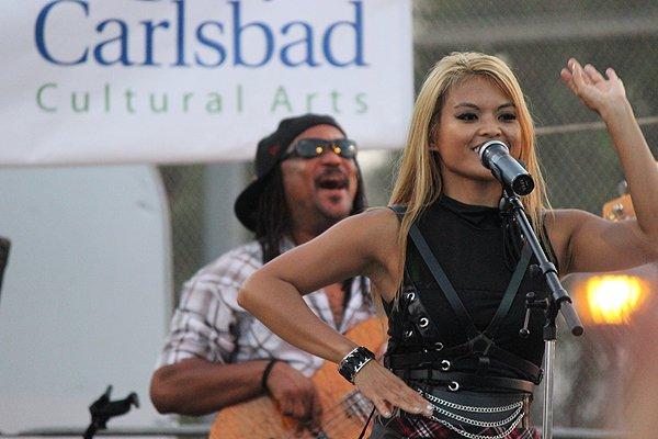 2014-07-25 Liquid Blue Band in Carlsbad CA at Pointsettia Park 011
