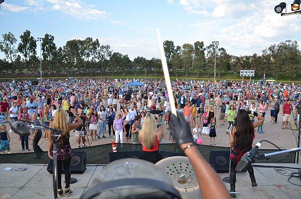 2014-07-25 Liquid Blue Band in Carlsbad CA at Pointsettia Park 164
