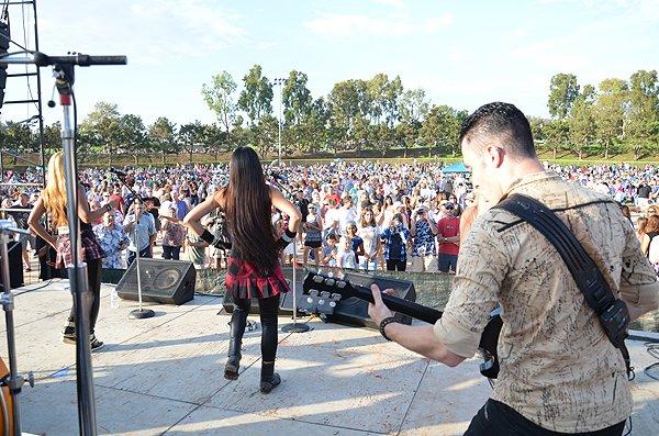 2014-07-25 Liquid Blue Band in Carlsbad CA at Pointsettia Park 187