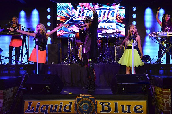 2014-09-15 Liquid Blue Band in San Diego CA at FLUXX 229