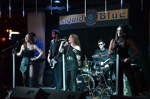 2015-01-06 Liquid Blue Band in Ontario CA at Misty's Lounge 002