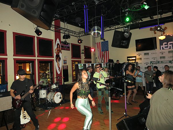 2015-03-17 Liquid Blue Band in San Diego CA at McFadden's 006