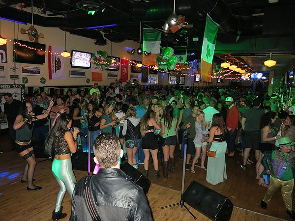 2015-03-17 Liquid Blue Band in San Diego CA at McFadden's 009