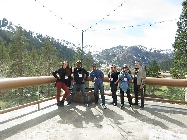 2015-03-21 Liquid Blue Band in Olympic Valley CA 012