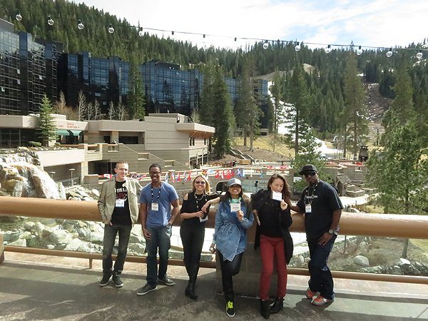 2015-03-21 Liquid Blue Band in Olympic Valley CA 013