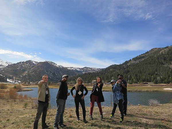 2015-03-21 Liquid Blue Band in Olympic Valley CA 024