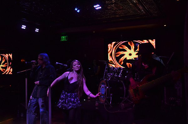 2015-03-21 Liquid Blue Band in San Diego CA at Club M 103