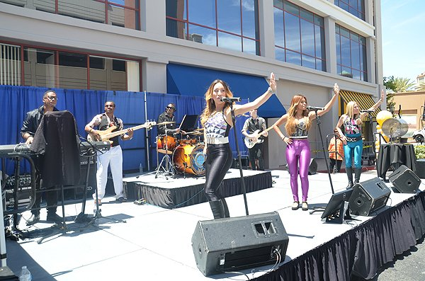 2015-06-18 Liquid Blue Band in Santa Clarita CA at Princess Cruises Headquarters 044