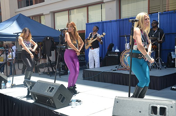 2015-06-18 Liquid Blue Band in Santa Clarita CA at Princess Cruises Headquarters 076