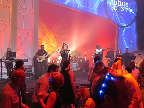 2015-07-10 Liquid Blue Band in Kissimmee FL at Gaylord Palms Resort 012