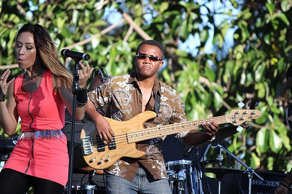 2015-07-24 Liquid Blue Band in Mission Hills CA at Pioneer Park 056