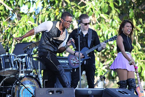 2015-07-24 Liquid Blue Band in Mission Hills CA at Pioneer Park 066